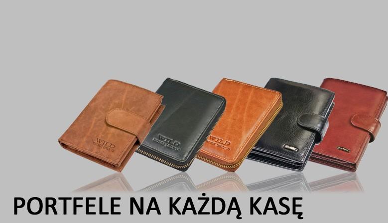 portfele na każdą kasę