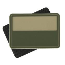 Emblemat patche flaga PL Khaki - 2 szt.
