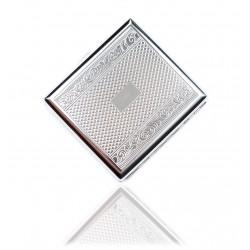 Klasyczna metalowa papierośnica cygarniczka wzór 1