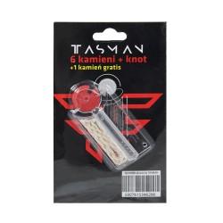 Akcesoria Tasman 6 kamieni i knot