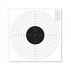 Tarcza do strzelectwa pneumatycznego 17x17cm 10szt