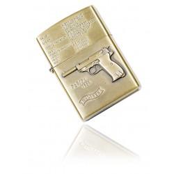 Zapalniczka benzynowa wzór Walther P38 gold