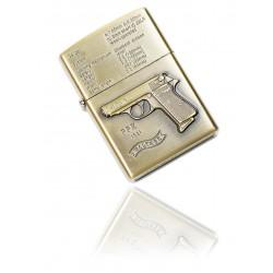 Zapalniczka benzynowa wzór Walther PPK gold