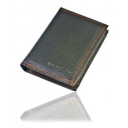 Prosty i klasyczny portfel męski czarny na prezent