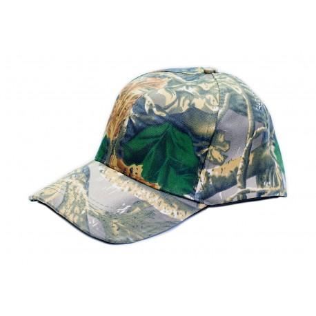 Czapka z daszkiem wojskowa kamuflaż leśny 3D