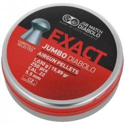 Śrut JSB Exact Jumbo 5.51mm, 250szt