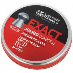 Śrut JSB Exact Jumbo 5.52mm, 250szt