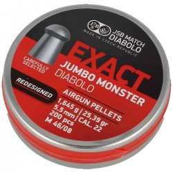 Śrut JSB Exact Jumbo Monster ReDesigned 5.52mm 200szt
