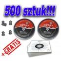 Śrut diabolo 5,5 mm super cena! 500 szt !!!!! + GRATIS