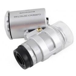 Lupa, mikroskop kieszonkowy 60x