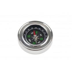 Kompas busola metalowy kieszonkowy dla turysty mały