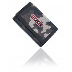 Męski portfel sportowy FUBU 3 moro brąz