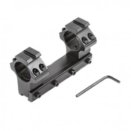 Montaż do lunety 25,4mm z szyną (wysoki, 10cm)