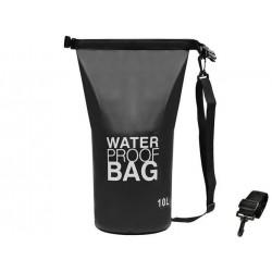 Worek transportowy wodoszczelny 10L czarny