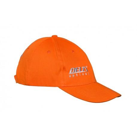 Czapka z daszkiem orange / myśliwska