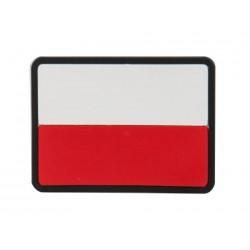 Emblemat velcro Helikon flaga Polska PVC Standard