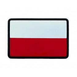 Emblemat patche Texar flaga Polska PVC Standard