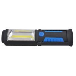 Lampa latarka warsztatowa COB magnes