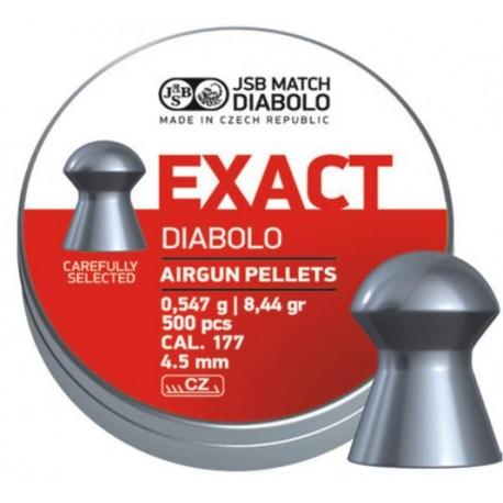 Śrut JSB Diabolo Exact 4.5mm (.177) 500szt