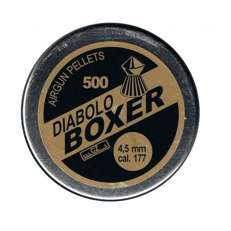 Śrut 4,5 mm Diabolo Boxer ostry 500 szt.