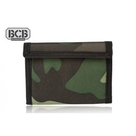 Portfel BCB Adventure Travel Wallet CAMO