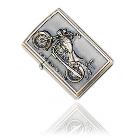 Zapalniczka benzynowa wzór - Moto Guzzi California gold