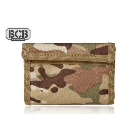 Portfel BCB Adventure Travel Wallet MULTICAM